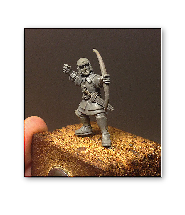 how to sculpt an archer tutorial by Brother Vinni